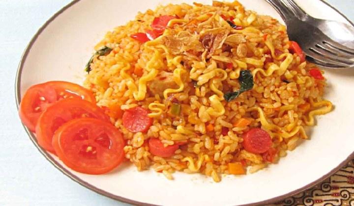 makanan khas trenggalek, nasi anglo