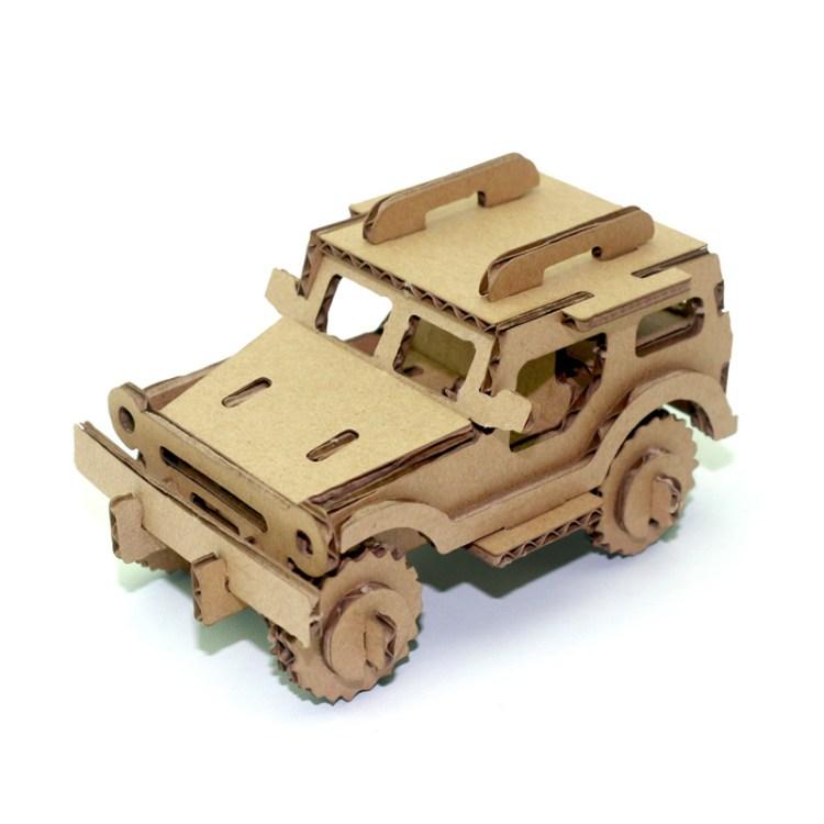 cara membuat mainan mobil dari kardus bekas