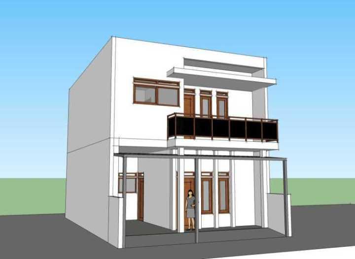 Rumah Minimalis 2 Lantai Luas 100 M  100 contoh denah rumah minimalis terisimpel dan terkeren
