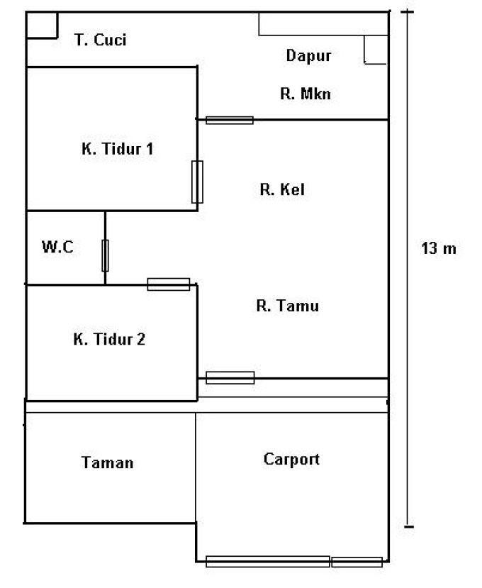 14 Contoh Sketsa Rumah Minimalis Elegan Dan Eksotis