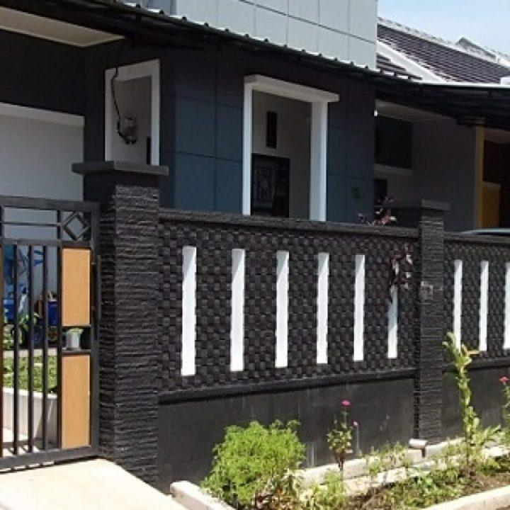 Pagar Rumah Minimalis Ukuran 2 Meter - Rumah Joglo Limasan Work