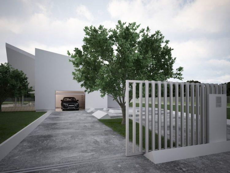 desain pagar rumah