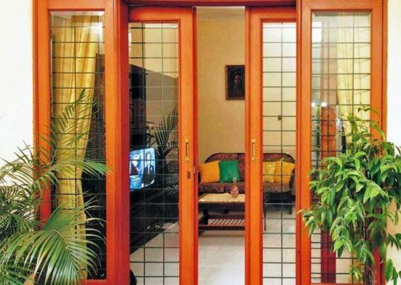 contoh desain pintu minimalis