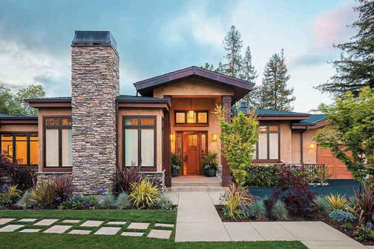 desain rumah klasik sederhana 1 lantai