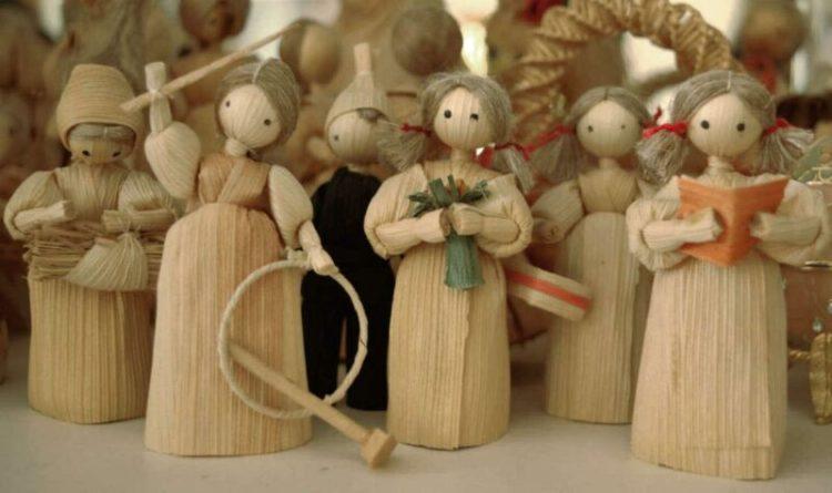 cara membuat boneka lucu dari kulit jagung