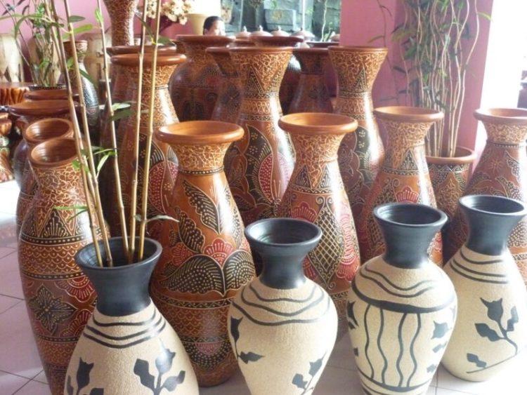kerajinan keramik dari bahan lunak