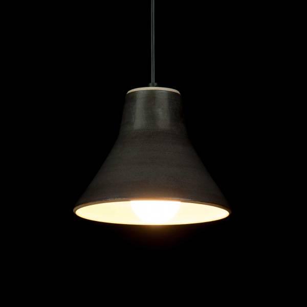 Hampen Keramik stoneware pendant light - lampe i stentøj