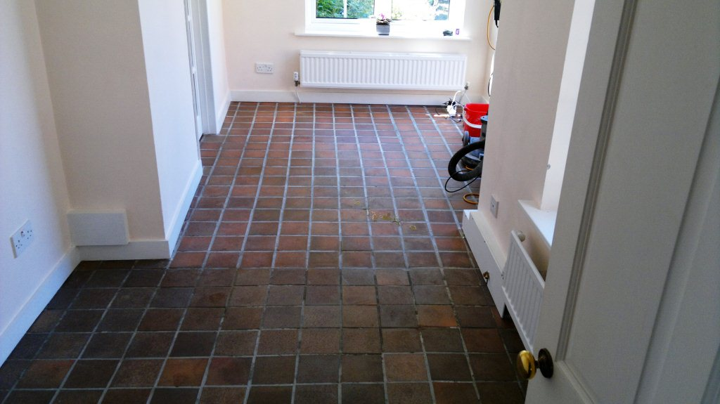Quarry Tile Restoration in Fareham  Tile Doctor Hampshire
