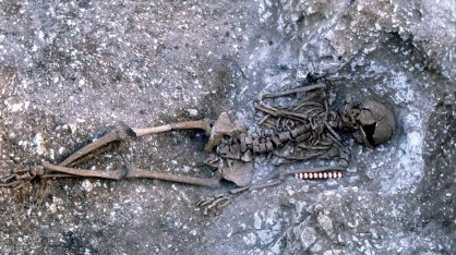 A Middle Iron Age adult burial
