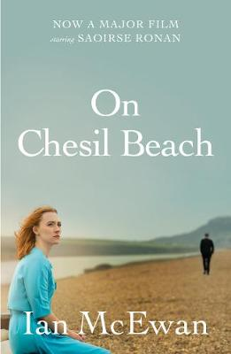 The image shows the book cover of On Chesil Beach by Ian McEwan