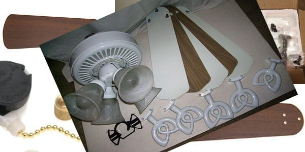 Hampton Bay Ceiling Fan Parts  Accessories Repairs Blades