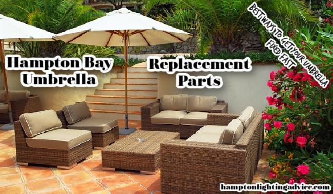 hampton bay umbrella replacement parts
