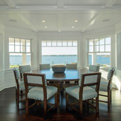 Living Room Fireplaces Shelves In Dining Areas - Hamptons Habitat