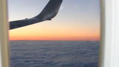 How to charter a plane window view of the Wing