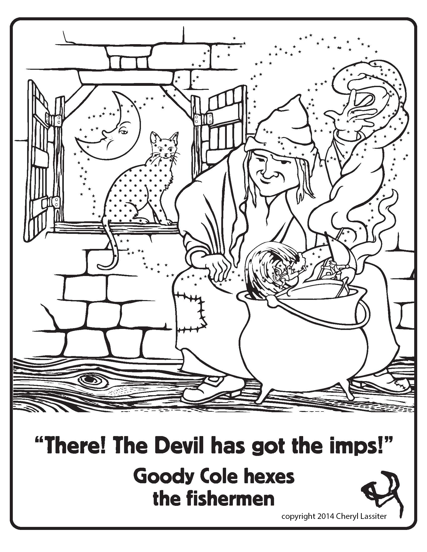 Goody Cole Coloring Pages