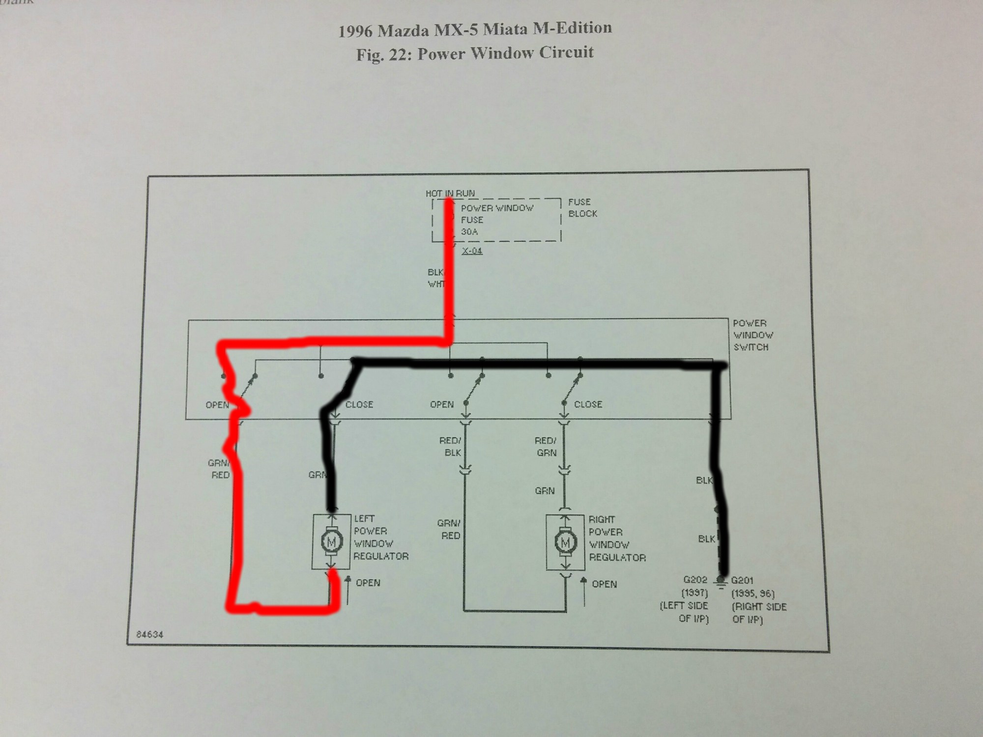hight resolution of the problem with the switch was the burned areas were causing high areas of resistance where current could not flow through this is the best way i could