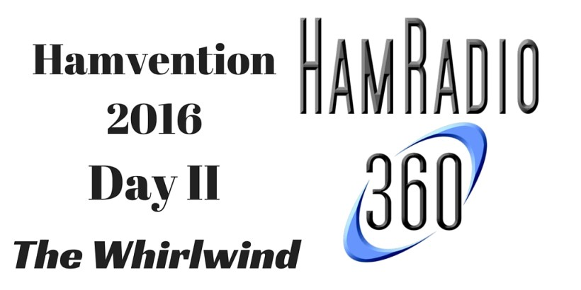 hamvention  day 2 whirlwind weekend