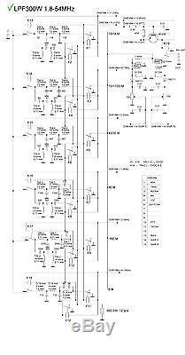 300w Amplifier In 10w 1.8-54mhz Sdr Hermes Anan, Flex-1500