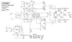 Hf Power Amplifier 1000w Mosfet Vrf2933 Sd2933 1kw
