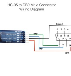 hc 05 to db9 connector [ 1024 x 768 Pixel ]