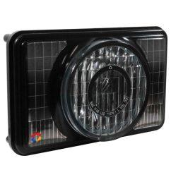 4 x 6 low beam led headlight module [ 1030 x 1030 Pixel ]