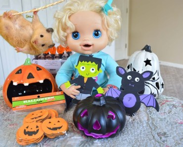 Baby Alive Halloween Hamster Haul! - Molly Buys Cupcake Halloween Decorations - Baby Alive Videos - baby alive halloween hamster haul molly buys cupcake halloween decorations baby alive videos
