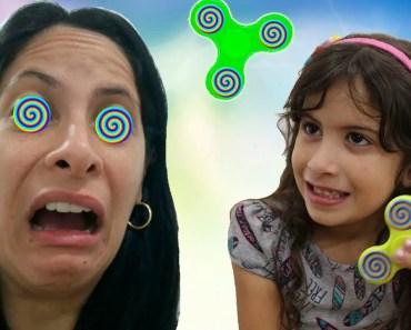 Hipnotizei a minha mãe com meu Spinner Mágico! (Bad Kids Magic Fidget Spinner Hypnotize Mommy!) - hipnotizei a minha mae com meu spinner magico bad kids magic fidget spinner hypnotize mommy
