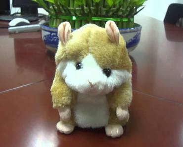 Likable Recording Hamster Toy - Assorted Color - likable recording hamster toy assorted color