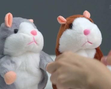Lovely Talking Hamster Plush Toy Cute Speak Talking Sound Record Hamster Stuffed Animal Toys - lovely talking hamster plush toy cute speak talking sound record hamster stuffed animal toys