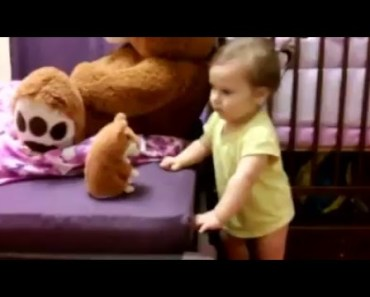 Talking Hamster Toy - Baby and a Talking Hamster - talking hamster toy baby and a talking hamster