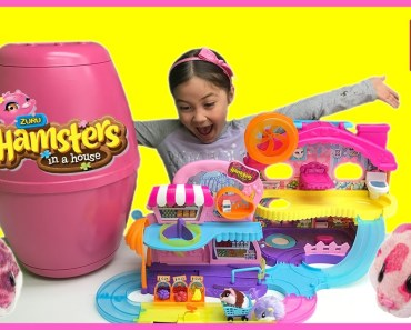 BIG SURPRISE TOYS EGG HAMSTERS IN A HOUSE Cute Hamster Home Toilet Grocery Store Fruits Sprinkles - big surprise toys egg hamsters in a house cute hamster home toilet grocery store fruits sprinkles