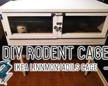 DIY IKEA RODENT CAGE | IKEA LINNMON/ADILS CAGE - diy ikea rodent cage ikea linnmonadils cage