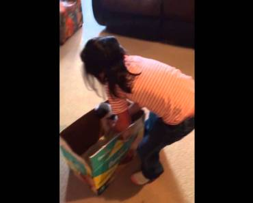Little Girl Thinks New Puppy is a Hamster - little girl thinks new puppy is a hamster