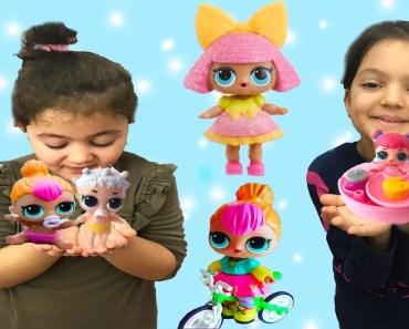 LOL SURPRİSE BEBEKLERİN KARDEŞİ LİL SİSTERS BEBEKLERİ BULDUK! Eğlenceli Dakikalar Funny Kids Videos - lol surprise bebeklerin kardesi lil sisters bebekleri bulduk eglenceli dakikalar funny kids videos