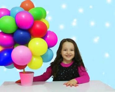 ÖYKÜ Balon Ağacını Buldu - Funny and Fun Kid Videos - Education - oyku balon agacini buldu funny and fun kid videos education