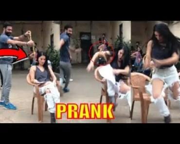 Sunny Leone's FUNNY Snake PRANK   Sunny Leone Revenge On Snake Prank - sunny leones funny snake prank sunny leone revenge on snake prank