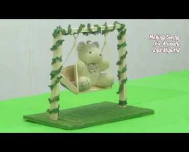 How to Make Swing for Cute Hamsters - Funny Hamster Pets - how to make swing for cute hamsters funny hamster pets