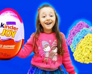 KİNETİC KUM İÇİNDE KİNDER SÜRPRİZ YUMURTA ARIYORUZ Funny and For Kis Videos - kinetic kum icinde kinder surpriz yumurta ariyoruz funny and for kis videos