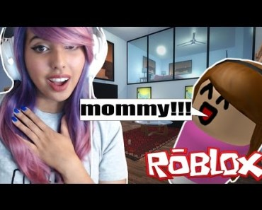 Adopting A Baby On Roblox! - adopting a baby on