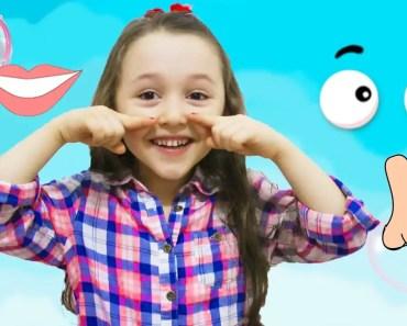 ÖYKÜ - Head Shoulders Knees and Toes - Funny Kids Videos - oyku head shoulders knees and toes funny kids videos
