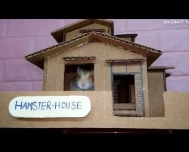 Handmade: How to make a DORAEMON HAMSTER's house - cardboard - 1521390289 handmade how to make a doraemon hamsters house cardboard