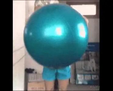Funny hamster on balloon - funny hamster on balloon