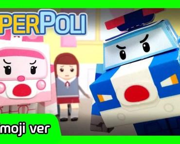 Emoji Ver. | The great Hamster Rescue! | Paper POLI [PETOZ] | Robocar Poli Special - emoji ver the great hamster rescue paper poli petoz robocar poli special