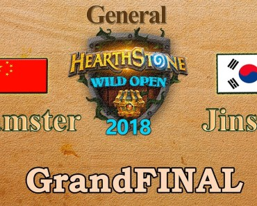 Hearthstone Wild Open GrandFINAL: Hamster vs Jinsoo 03/31/2018 - hearthstone wild open grandfinal hamster vs jinsoo 03 31 2018