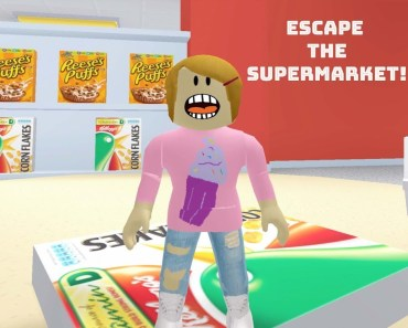 Roblox Escape The Supermarket With Molly! - The Toy Heroes Games - roblox escape the supermarket with molly the toy heroes games