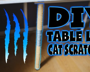 DIY CAT SCRATCHING POST (EASY&CHEAP) - diy cat scratching post easycheap