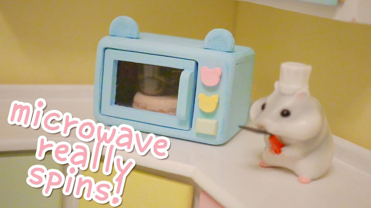 DIY miniature microwave | Building the Hamster Kitchen | Part 4 ...