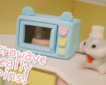 DIY miniature microwave | Building the Hamster Kitchen | Part 4 - diy miniature microwave building the hamster kitchen part 4