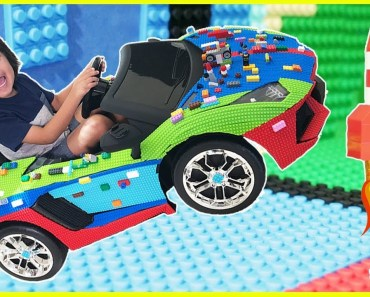 Family Fun Mayka Toy Block Tape Challenge! - family fun mayka toy block tape challenge
