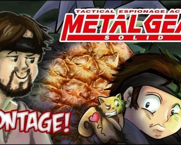 Funny Metal Gear Solid Montage! - funny metal gear solid montage